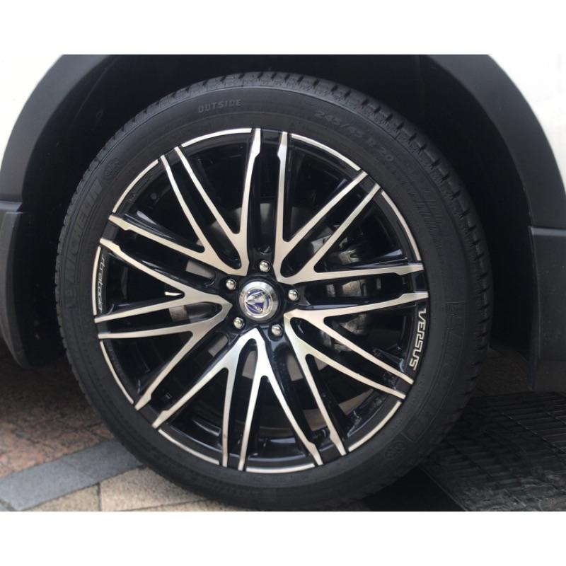 CRV5 RAYS 20吋鋁圈 含245/45/20 全新米其林輪胎