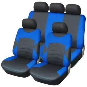 ชุดผ้าหุ้มเบาะรถยนต์แบบสวมทับ แต่งรถ รุ่น Y33046  (สีน้ำเงิน) ผ้าคลุมเบาะรถ ผ้าหุ้มเบาะรถยนต์ ผ้าหุ้มเบาะ ผ้าคลุมเบาะ ชุดหุ้มเบาะรถยนต์ ผ้าคลุมเบาะรถยนต์หน้าหลัง ชุดผ้าคลุมเบาะ ผ้าคลุมกันผุ่นในรถ ผ้าคลุมเบาะรถยนต์แบบสวม Carseatcover