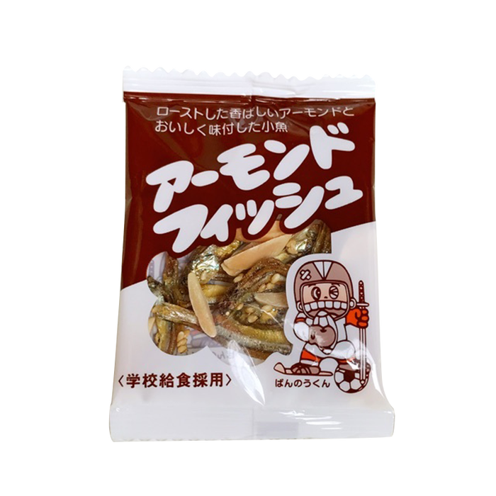 日本選物--日本學校團膳專用杏仁小魚乾280g(40入)