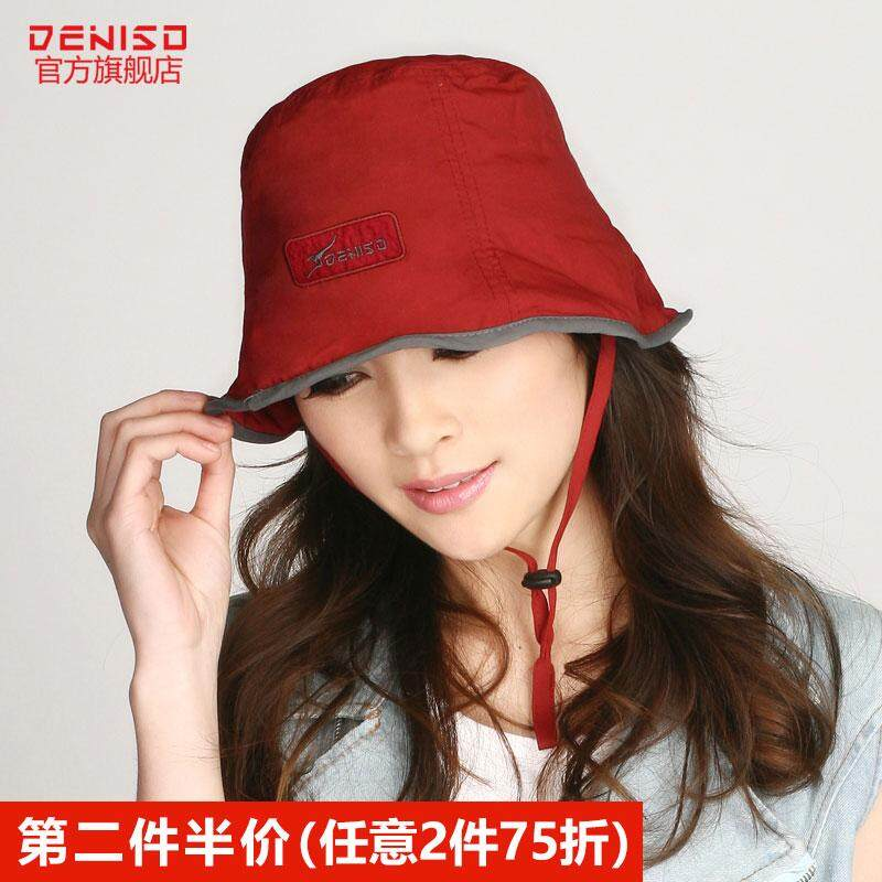 Hat Female Summer Sun Hat Foldable Topee UV Outdoor Sun Protection Hat DS-2075