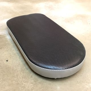 Cushion Seat for scooters and bikes Black silver Fiido AM Dyu Tempo Speedway Dualtron Inokim