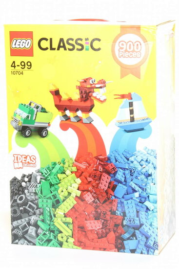 LEGO Lego CLASSIC 10704 900Pieces IDEAS INCLUDED Lego古典主意零件900枚玩具 threelove