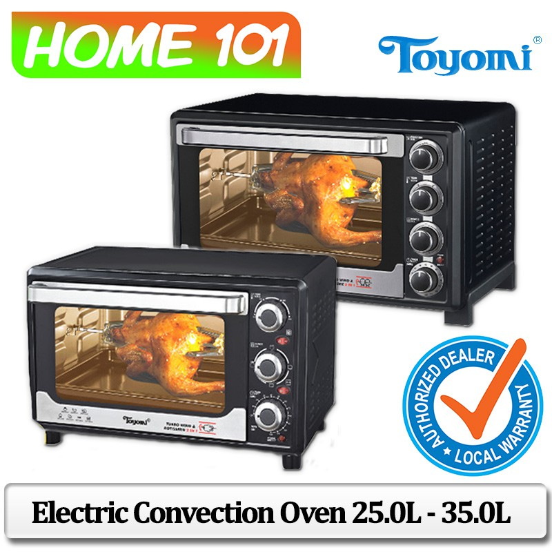 Toyomi Electric Convection Oven 25.0L - 35.0L [TO 2311RC] [TO 3533RC]