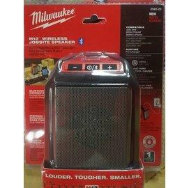 現貨 米沃奇 M12藍芽揚聲器