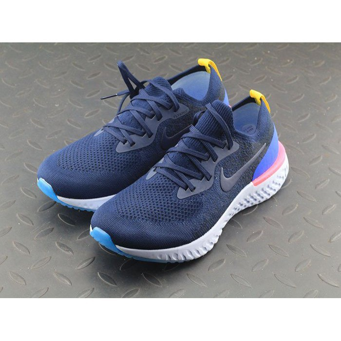 NIKE EPIC REACT FLYKNIT 女編織慢跑鞋AQ0067-400