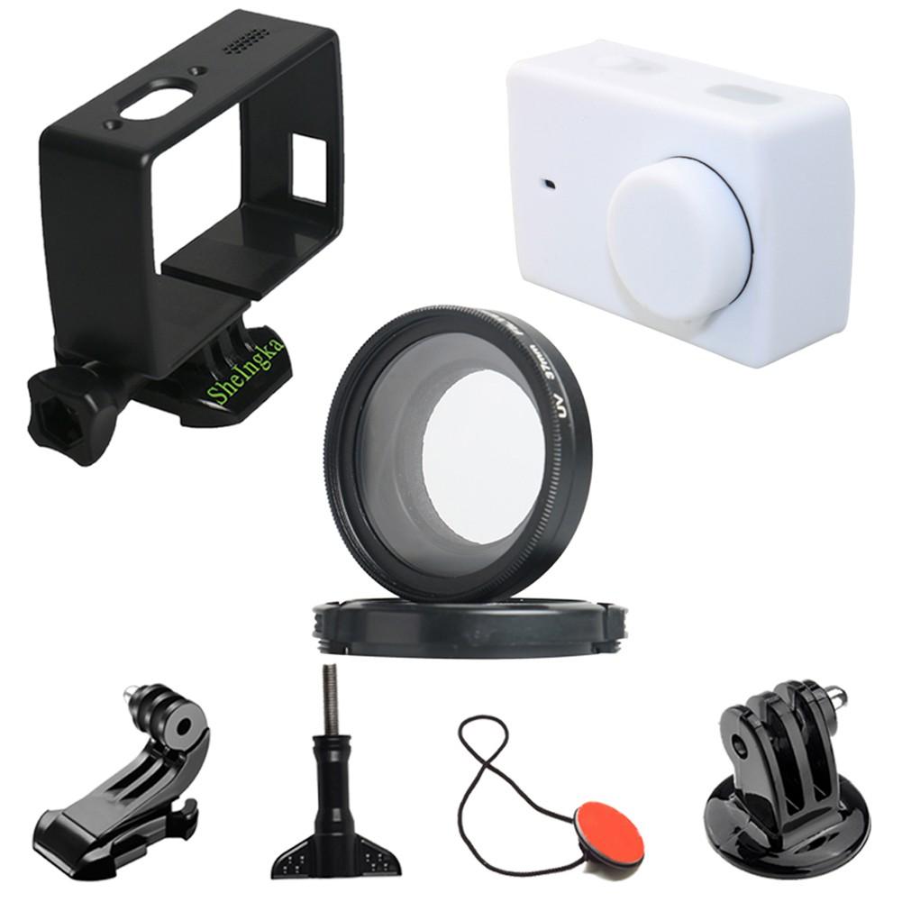 小米小蟻4k 4k+ YI Lite運動相機8件套裝