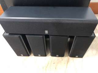 Yamaha Ns p110 5.1 speaker with active servo technology woofer