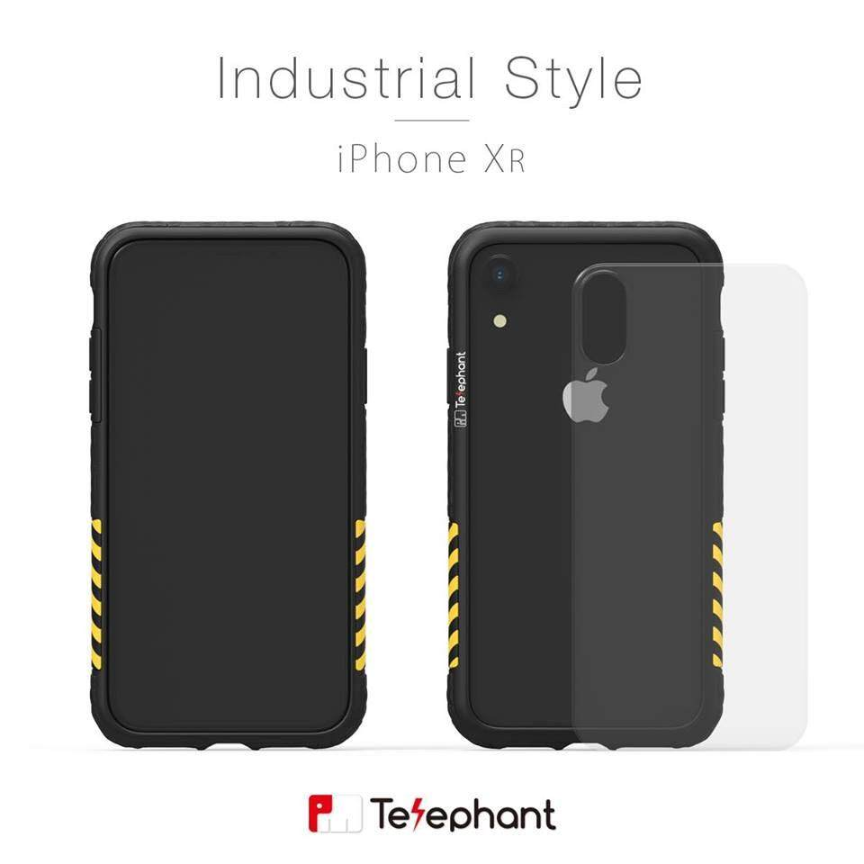 Telephant Bumper Case Limited Edition BLACK YELLOW STRIP FOR IPHONE XR