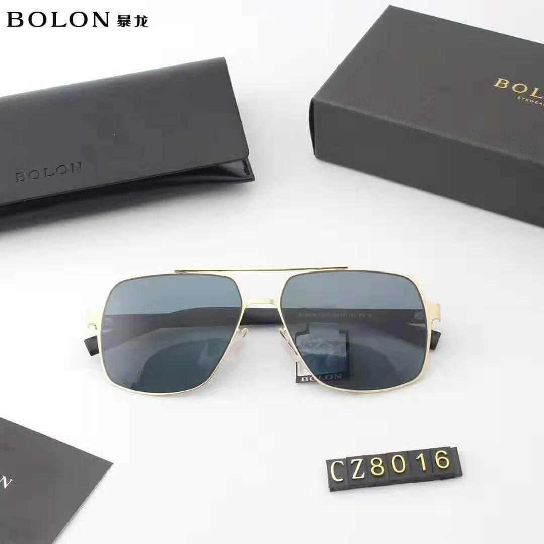 Bolon แว่นดากันแดดทรงเหลี่ยมผู้ชายกรอบโลหะย้อนยุคแว่นตากันแดดแนวโน้มแฟชั่นแว่นตาสำหรับขับรถ BL8016