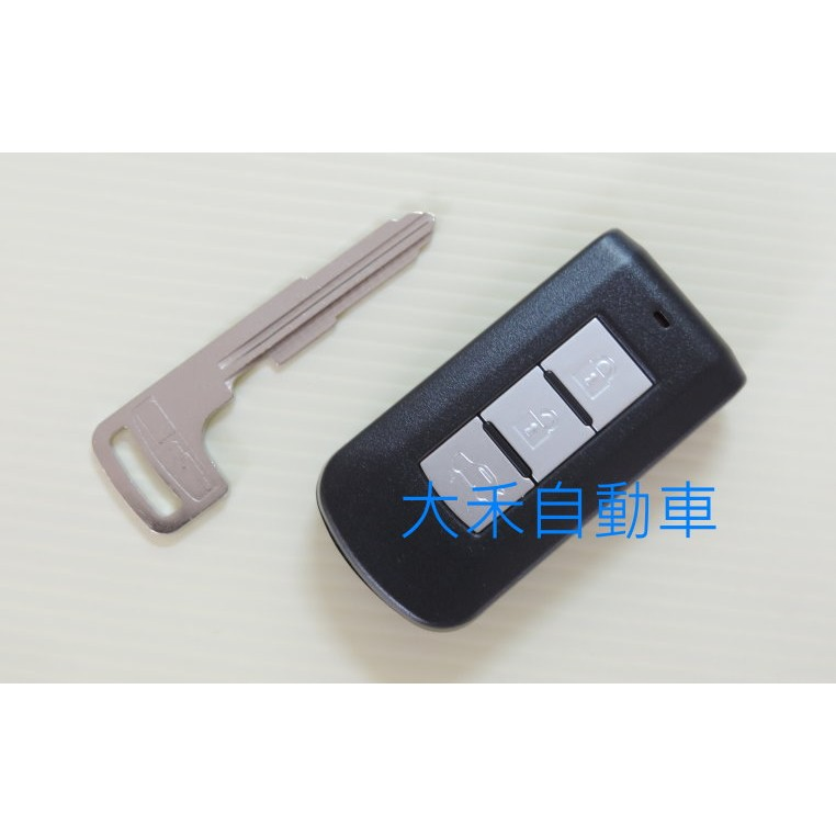 三菱汽車 Outlander Fortis new LANCER 智能鑰匙 晶片鑰匙外殼 適用原廠智能鑰匙