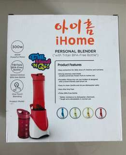 Ihome Personal Blender