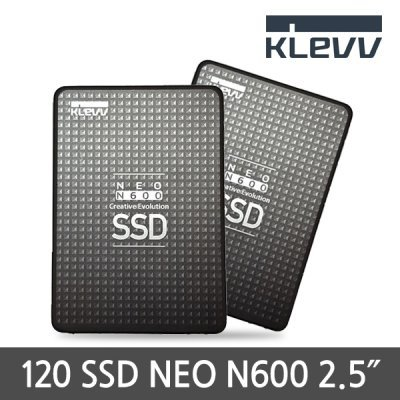 [KLEVV] NEO N600 2.5 SSD 120G / Premium SSD