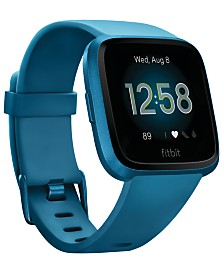 Fitbit Versa Lite Blue Strap Smart Watch 39mm