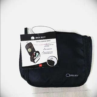 REDUCED PRICE!!! Brand New Delsey Traveller Toiletry Organizer (size: S)