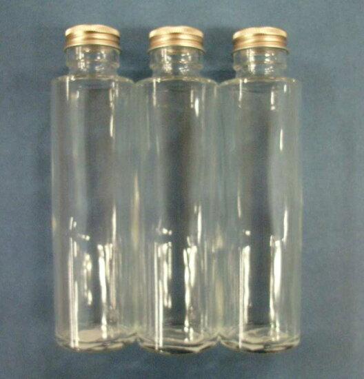 供她鋇使用的孔隙玻璃瓶圓柱形(附帶葱塞子)約容量150ml 3瓶一套sss-150 Flower Life Saneicraft