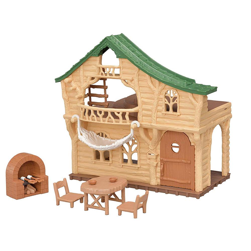 森林家族 森林探險小木屋