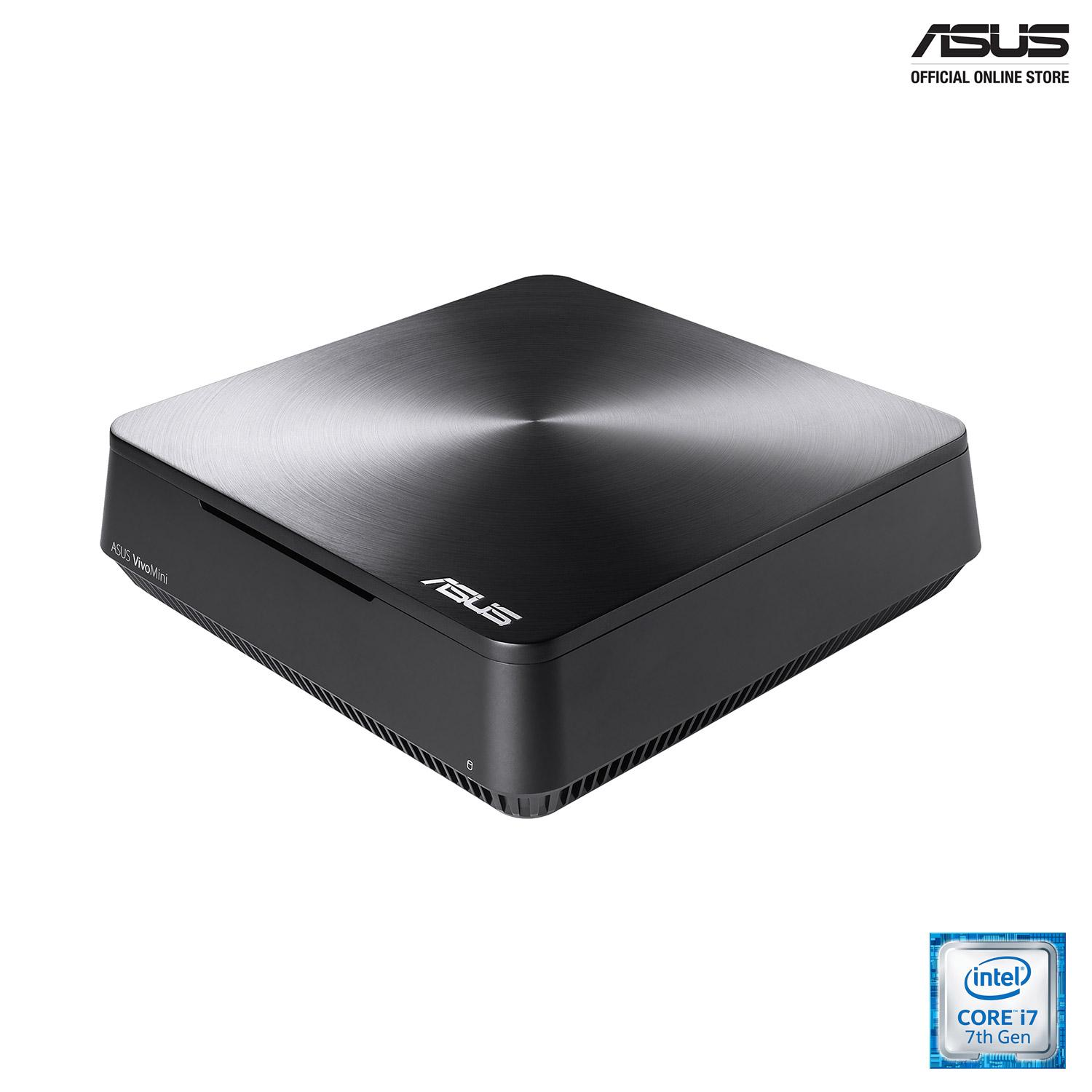 ASUS VivoMini VM65N (VM65N-G115Z) Powerful home entertainment mini PC with up to an Intel Core i5 processor, Windows 10 Home, Intel HD Graphics 630 graphics, DDR4 RAM, 4K UHD, 802.11ac Wi-Fi and Vivo DualBay (accommodate up to two 2.5-inch SSD/HDD)
