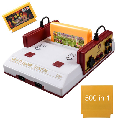 US plug High Qunity Classical family game box TV game console 8bit TV game 80 yesrs after console wi