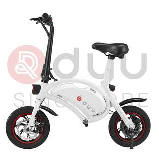 DYU Seated Electric Scooter 10Ah White