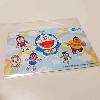 Doraemon $5 value Ezlink Card