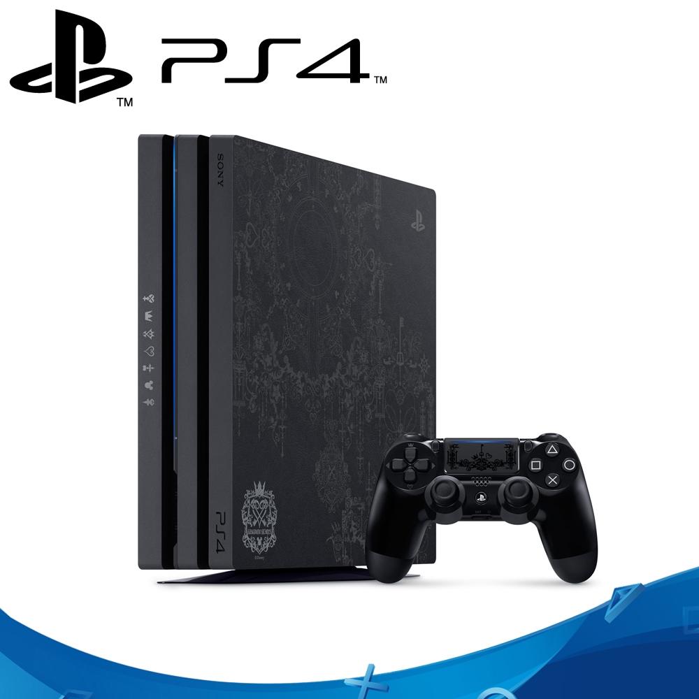PS4 Pro主機1TB 王國之心3 同捆組