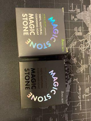 🚚 韓國 APRILSKIN MAGIC STONE魔法石洗面皂(全新品)