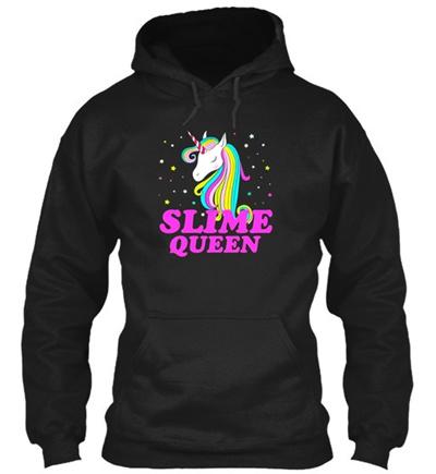 Slime Queen For Unicorn Lovers Gildan Hoodie Sweatshirt