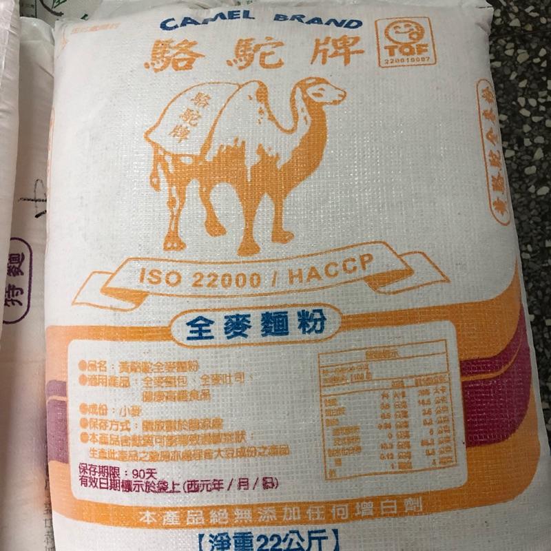 駱駝牌 全麥麵粉 22kg