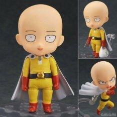 10 เซนติเมตร ONE PUNCH - MAN ONE PUNCH MAN ไซตามะ Sensei ฟันโกะป็อบอะนิเมะ ของเล่นการ์ตูนตุ๊กตาตุ๊กตาขยับแขนขาได้ของขวัญตกแต่ง