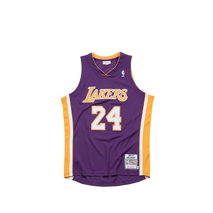 Mitchell & Ness / NBA 球員版球衣 KOBE 06-07 ROAD 湖人 紫