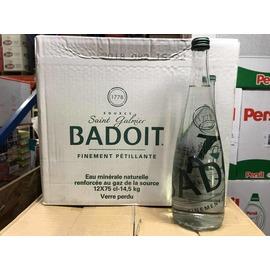 『油工廠』BADOIT 天然氣泡礦泉水 氣泡水 玻璃瓶 750ml x 12 整箱出售 不零售