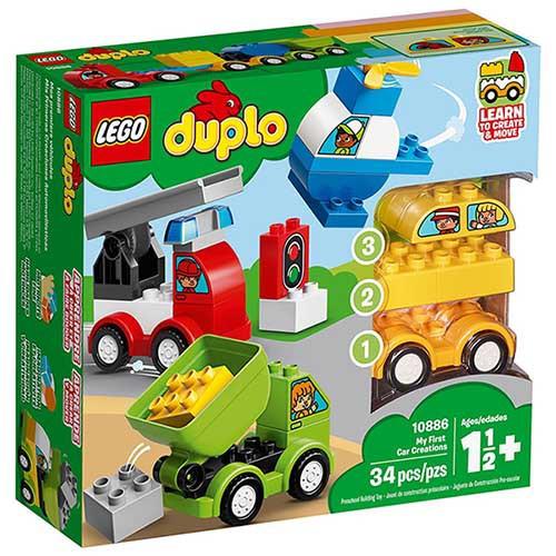 LEGO 樂高 10886 我的第一套創意汽車組合 Duplo 得寶系列 < JOYBUS >