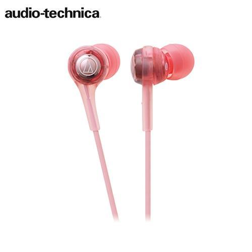 【公司貨-非平輸】鐵三角 ATH-CK200BT 頸掛耳塞式藍牙無線耳機 粉色