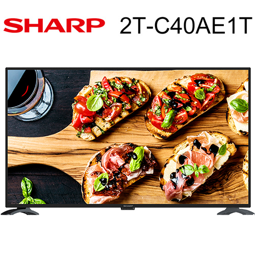 SHARP 夏普 2T-C40AE1T電視 40吋 Full HD 杜比音效