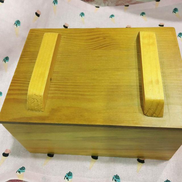 手工皂吐司模 木盒 全新