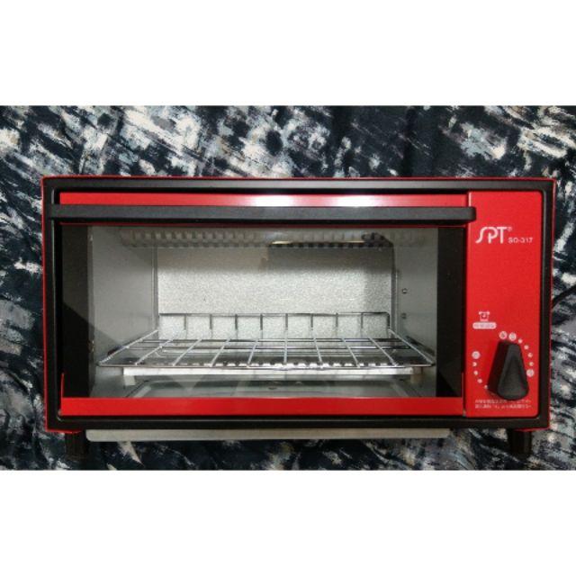 尚朋堂 電烤箱 SPT SO-317 圓點 紅色 普普風 二手極新