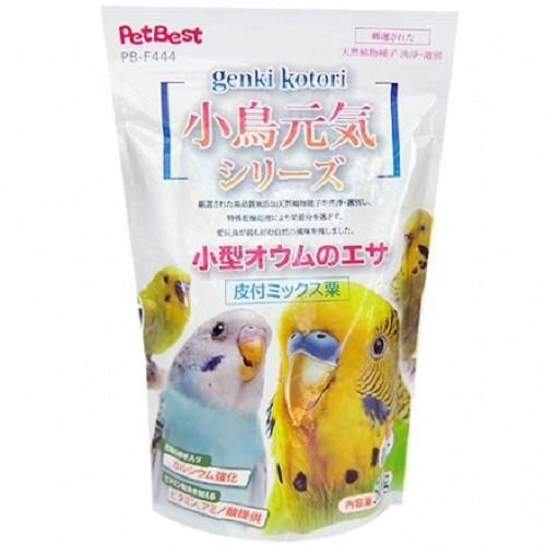 PETBEST小鳥元氣系列-虎皮鸚鵡/雀科文鳥/長尾鸚鵡 專用飼料500g
