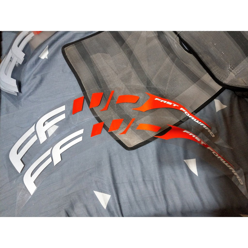 FFWD F9R 一輪 + F6R一輪份 反光銀 現貨一車份 可全家 7-11取貨付款