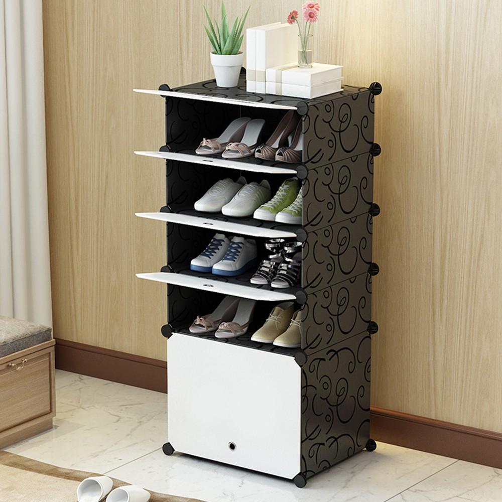 [現貨免運] Mr.Box 5層5門防塵鞋櫃 整理收納組合櫃 E&J【004004-01】