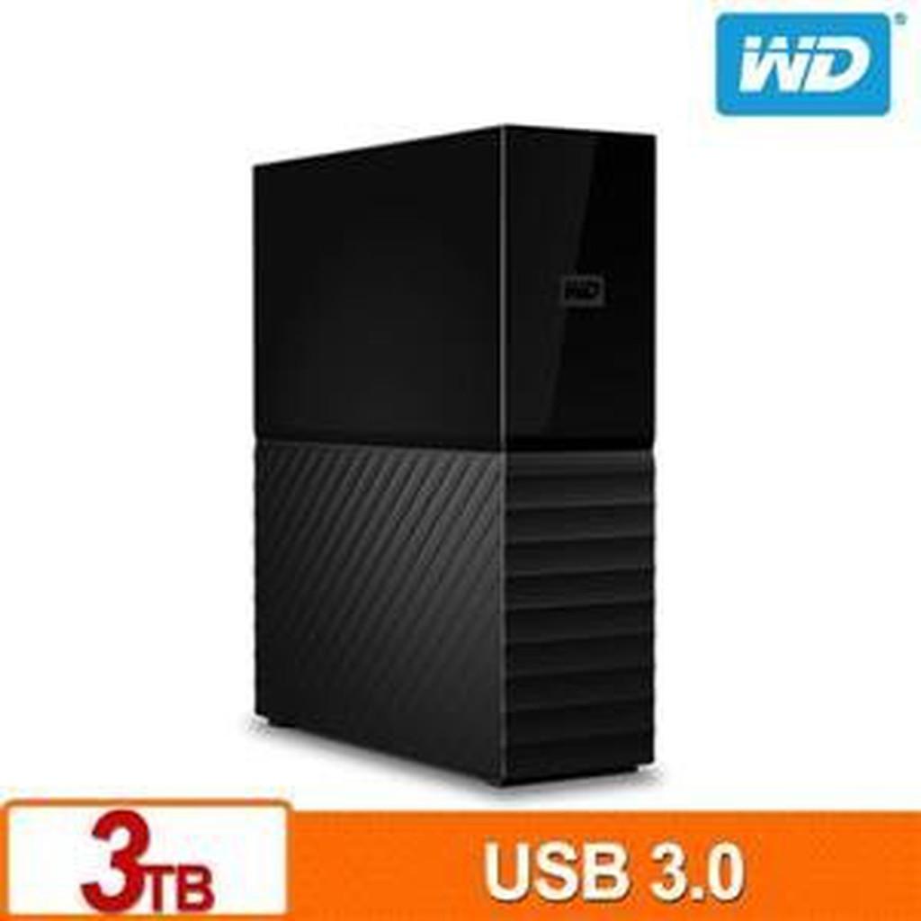 含稅My Book 3TB 3.5吋 Windows 和 Mac 相容),3年保(WDBBGB0030HBK-SESN)