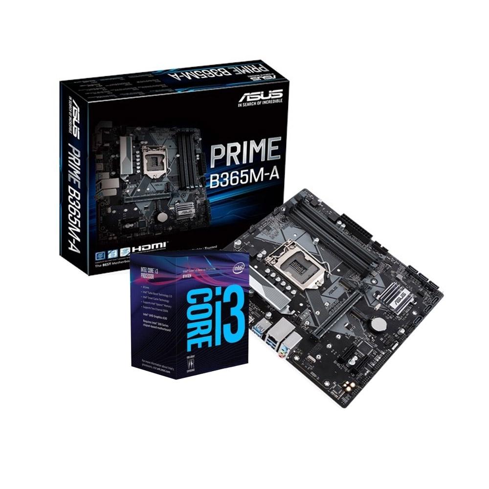 華碩 PRIME B365M-A+Intel i3-9100F