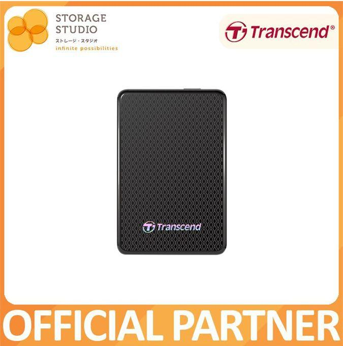 Transcend ESD400 USB3.0 Portable SSD - 128/256/512GB/1TB 3 Years Local Singapore Warranty *TRANSCEND OFFICIAL PARTNER*