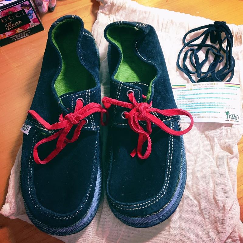 SoleRebels 全新專櫃手工非洲輪胎鞋(真皮-麂皮)