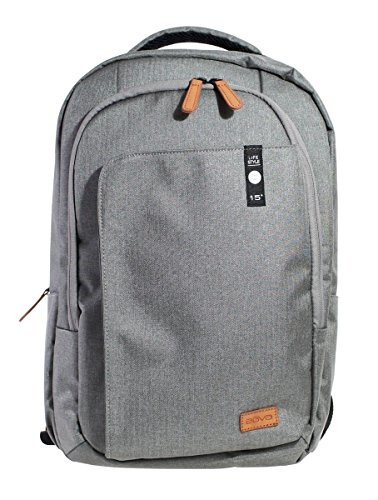 AGVA Agva Heritage 15.6 Laptop Backpack - Gray