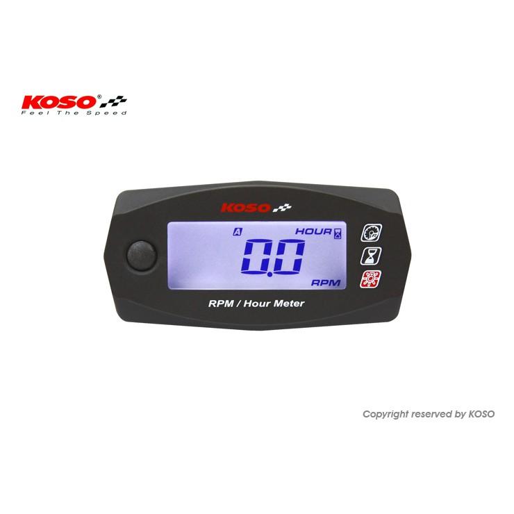 【UCC機車精品】 KOSO MINI4 液晶轉速表 轉速表 MANY BWS DIO 新勁戰 GTR RS RPM