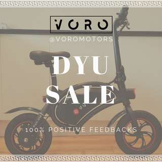 DYU Compact Seated Electric Scooter / E Scooter