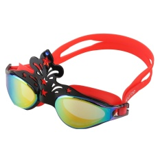 Swimming Goggles High Defination Waterproof Glasses with Protective Case Tinted UV Protection Goggle Swimming - intl