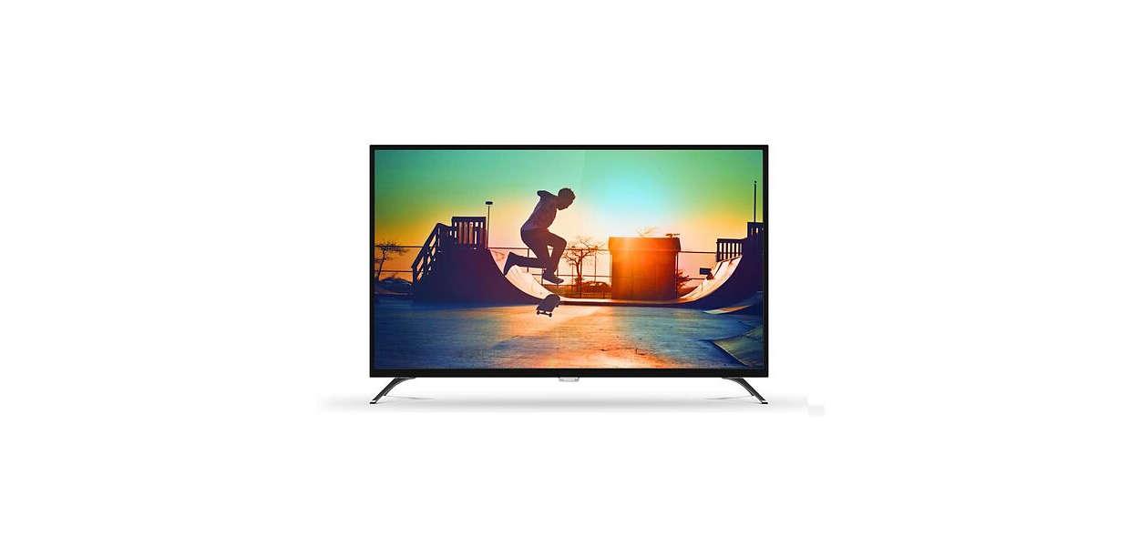 【PHILIPS飛利浦】65吋真4K 60P聯網液晶電視(65PUH6002)
