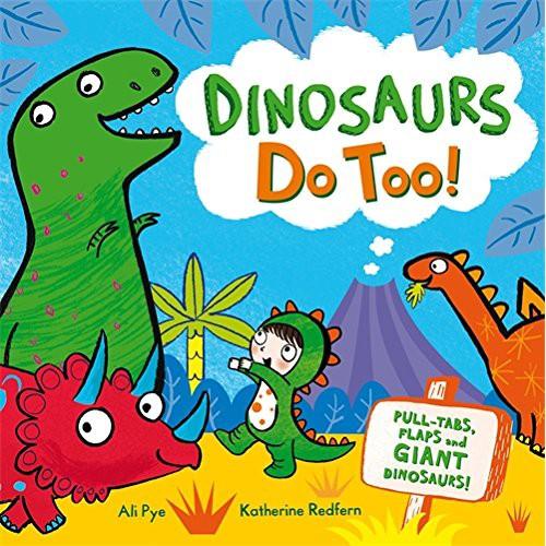 【麥克書店】DINOSAURS DO TOO|恐龍來囉