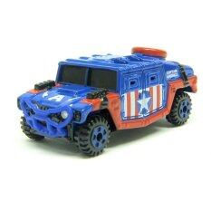 Tomica Dream Tomica MARVEL Captain America (Blue)